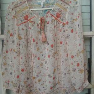 Joie silk tunic XS-like new